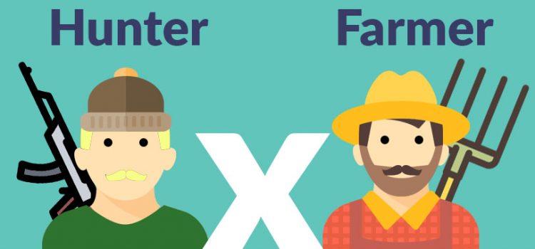 Vendedor Hunter ou Vendedor Farmer? Entenda a diferença
